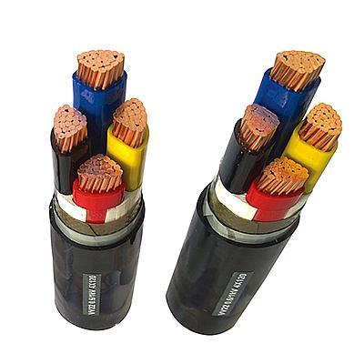 聚氯乙烯绝缘钢带铠装电力电缆
